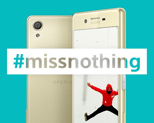 #MissNothing